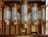 Orgel hall — Stockfoto