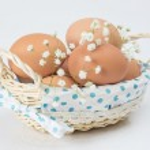 Fresh brown eggs — Stock Photo #66262167