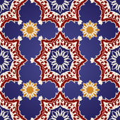 Decorative  seamless pattern in ottoman motif — Stock Vector