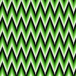 Seamless pattern with green zigzag elements — Stock Vector #53535255