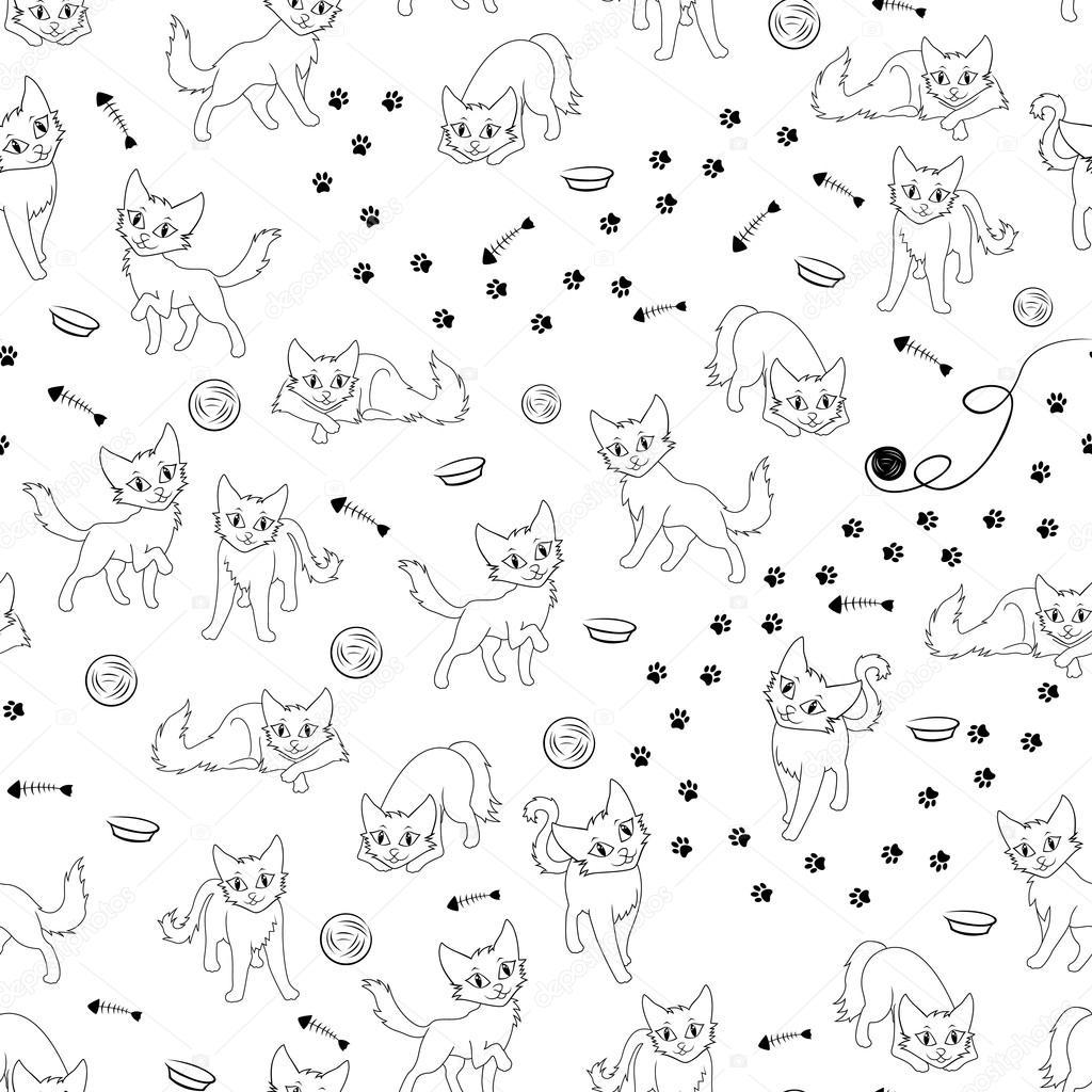 образец кошки
