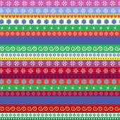Christmas striped seamless pattern — Stock Vector