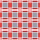 Rectangular seamless pattern in pink an gray trendy hues — Stock Vector
