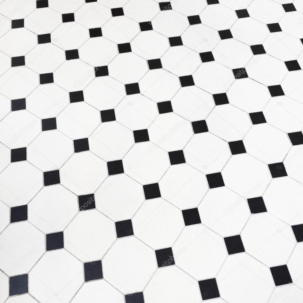 Nordic White Blue Hexagon Puzzle Art Ceramic Mosaic Tile
