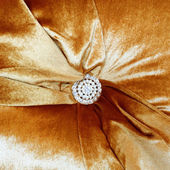 Detail of a fancy cushion — Stock Photo