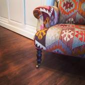 Armchair with ethnic design — Foto de Stock