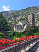 Historic center of Andorra La Vella — Stock Photo