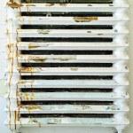 Old rusty heater — Stock Photo #73889535