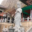 Statue of Guanyin in the temple on Jeju Island South Korea — Stock Photo #70045861