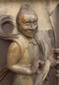 済州島, 韓国の寺の天使の置物 — ストック写真