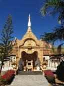 Pagode in thailand — Stockfoto