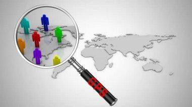 GPS Tracking — 图库视频影像