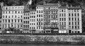 Lyon old city — Stock Photo