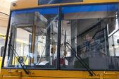 City public transport  bus  — Stock Photo