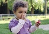 孩子领料软管 — 图库照片