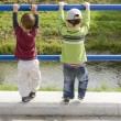 Children brothers playing — Stock Photo #60085685