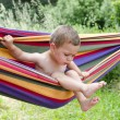 Child in hammock — Stock Photo #60520147