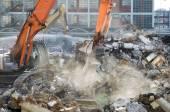 Demolition site — Stock Photo
