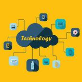 Computer icons app set, — Vettoriale Stock