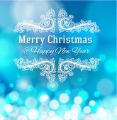 Christmas greeting card — Stock Vector