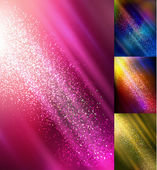 Bokeh lights backgrounds — Stock Vector