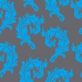 巴洛克式雕刻花纹 — 图库矢量图片