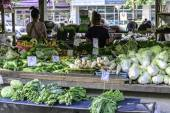 Vegetables for sale at market. — Stock Photo