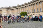Tour of Britain in Bath, UK — Stock Photo