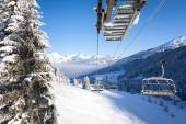 View from Chair Lift — Stock Photo