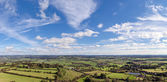 High View of The Somerset Levels — Stock Photo