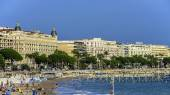 Cannes beach — Stock Photo