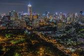 Bangkok twilight — Stock Photo