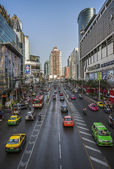Phetchaburi road Pratunam Bangkok — Stock Photo