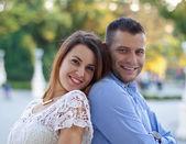 Sweet couple — Stock Photo