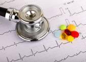 Electrocardiogramen — Stockfoto