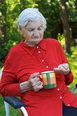 Péče o seniory — Stock fotografie