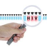 Find HIV vaccine — Stock Photo