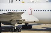 Dettaglio di aereo di linea — Foto Stock