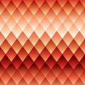 Red background, pattern rhombus, mesh gradients, vector background — Stockvector
