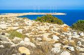 Walking on Cape Greco — Stock Photo