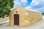 The medieval chapel — Stock Photo