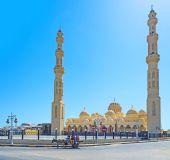De moskee — Stockfoto