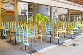 封闭的咖啡馆 — 图库照片