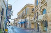The scenic street — Stock Photo