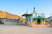 The colorful mosque — Stock Photo