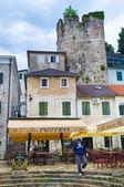 La ciudad medieval — Foto de Stock