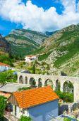 Aqueduct of Stari Bar — Stock Photo