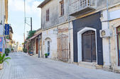 пустые улицы — Стоковое фото