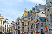 The splendour of the Grand Place — Stock Photo