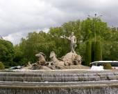 Neptune fountain — Stock Photo